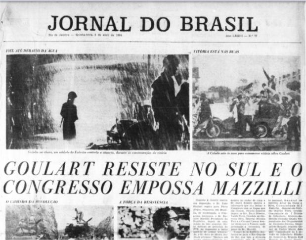 Golpe Militar de 1964 no Jornal do Brasil